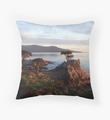 The Lone Cypress 2 Throw Pillow