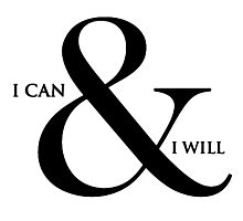 I can and I will! Photographic Print