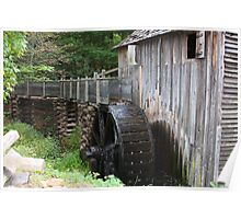 Cable Mills Grist Mill - Cades Cove Tennessee Poster