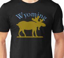 Wyoming Moose Unisex T-Shirt