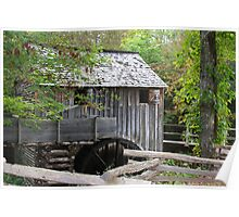 Cable Mills Grist Mill II - Cades Cove Tennessee Poster