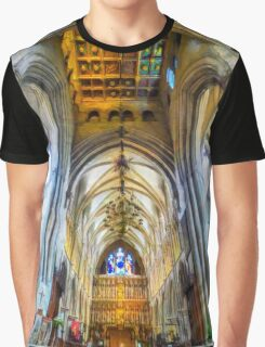 The Interior of the Southwark Cathedral  Graphic T-Shirt