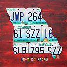 Missouri License Plate Map by designturnpike