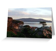 The Lone Cypress 4 Greeting Card