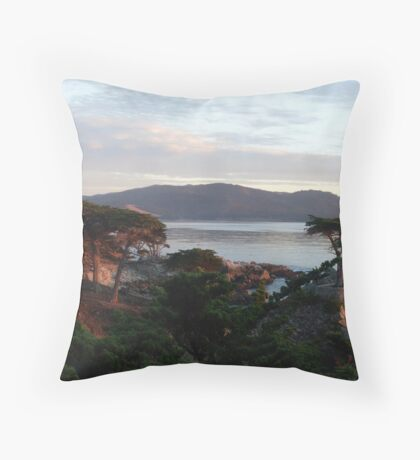 The Lone Cypress 4 Throw Pillow