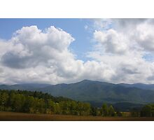 Open Space - Smoky Moutains Photographic Print