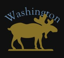 Washington Moose Kids Tee