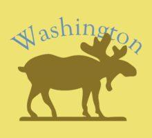 Washington Moose Kids Tee