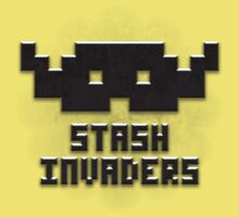 Stash Invaders Kids Tee