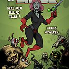 Lady Ghoul Issue 1 Cover by MushfaceComics