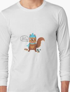 Squirrel Nut Freezing Cold Long Sleeve T-Shirt