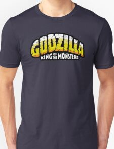 Godzilla - King of Monsters - Vintage Comics logo T-Shirt