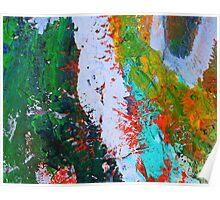 Cadillac Ranch Abstract #2 Poster