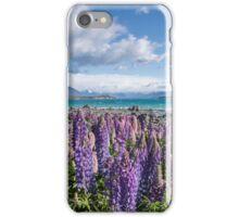 Lake Tekapo Flowers iPhone Case/Skin