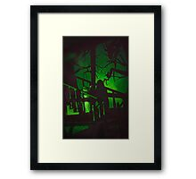 There's Nothing In The Dark Framed Print