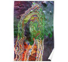 Cadillac Ranch Abstract #3 Poster