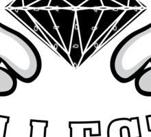 Diamond Hands ILLEST Sticker