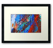 Cadillac Ranch Abstract #4 Framed Print