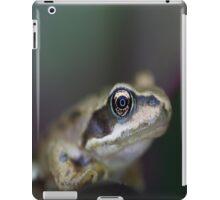 Macro frog case iPad Case/Skin
