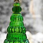 Glass Christmas Tree (Holiday Card) by Michael Baker