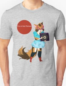 I'm a Cat Person-Girl T-Shirt
