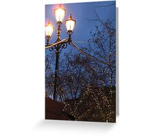 Light Trio Greeting Card