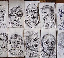 more napkin doodles by madvlad
