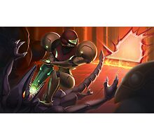 Samus vs Ridley Photographic Print