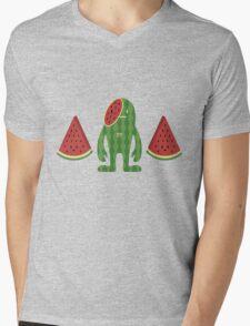 MelonDeki Mens V-Neck T-Shirt