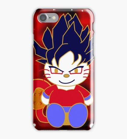 Super Saiyan 4 Kitty iPhone Case/Skin