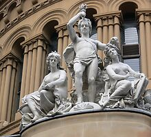 Sydney statues by PhotosByG