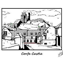 Corfe Castle by Simon30