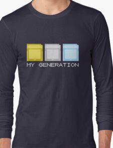Gold Silver Crystal Generation Long Sleeve T-Shirt