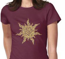QR Sun Womens Fitted T-Shirt