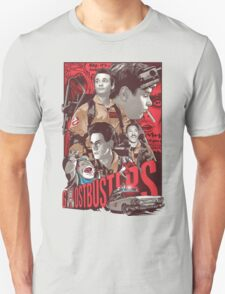 Cool Ghostbusters Movie Poster T-Shirt