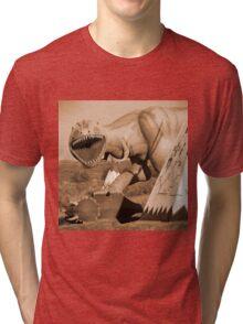 Route 66 - Painted Desert Indian Center Tri-blend T-Shirt