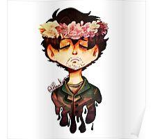 Flower Crown Graham Poster
