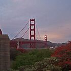 Golden Gate Bridge by Socrates & Angela Hernandez