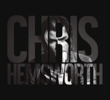 Chris Hemsworth by hannahollywood