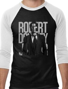 Robert Downey Junior Men's Baseball ¾ T-Shirt