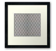 Rhombus lattice 1 Framed Print
