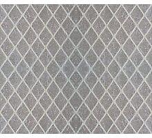 Rhombus lattice 1 Photographic Print