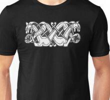 Two Celtic Dogs Unisex T-Shirt