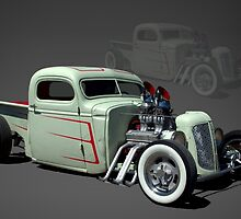 1946 Chevrolet Pickup Rat Rod by TeeMack