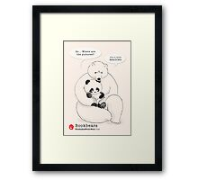 Bookbears Framed Print