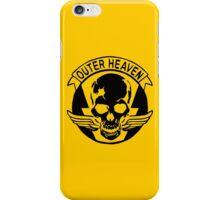 Outer Haven Logo Black iPhone Case/Skin