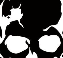 Outer Haven Logo Black Sticker