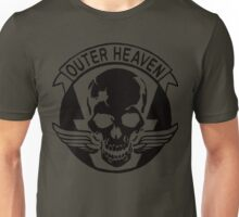 Outer Haven Logo Black Unisex T-Shirt