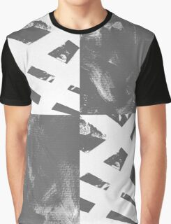 Which Way? - Black and White Graphic T-Shirt