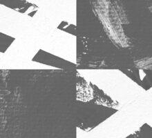 Which Way? - Black and White Sticker